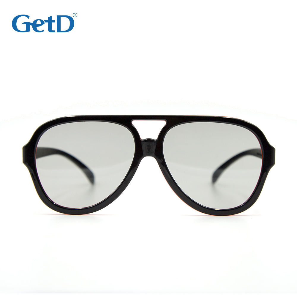 GetD Good Quality Passive Sunglass design 3d Glasses stylish reusable glasses