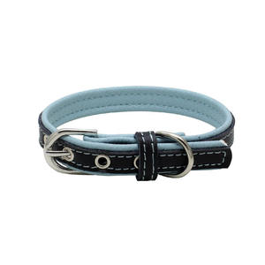 Pet Supplies Multi Color Wholesale Dog Collars PU Leather Pet Puppy Collar