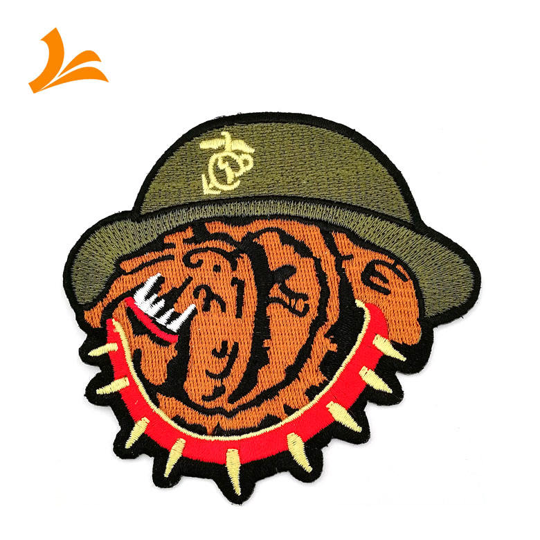Hot sale custom cheap embroidered cloth patch for sale