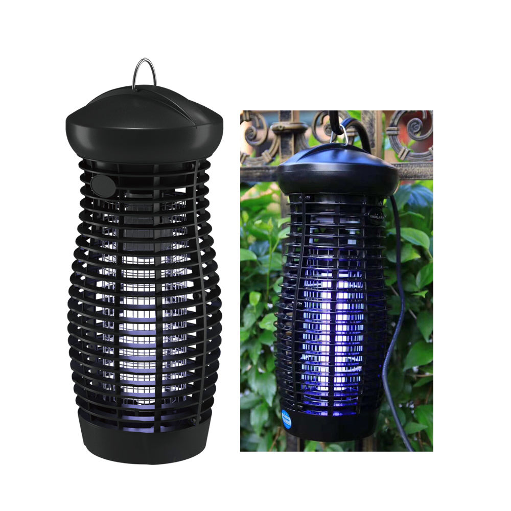 High powered 20W tube insect attracting uv mosquito killer lamp led outdoor standing or hanging for garden farm use
