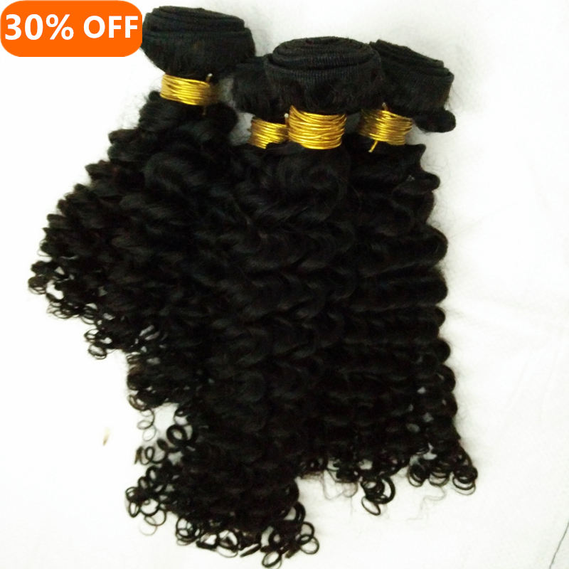 Letsfly 10A mix lengths 4pcs unprocessed afro jerry curl italy wave curly brazilian virgin hair weaves