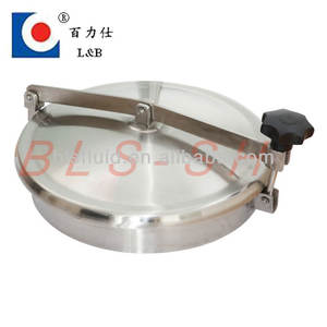 Sanitary Stainless Steel Tank Manway Covers