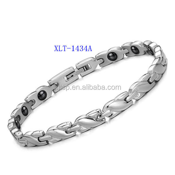 Best quality bracelet jewelry titanium germanium health magnetic bracelet