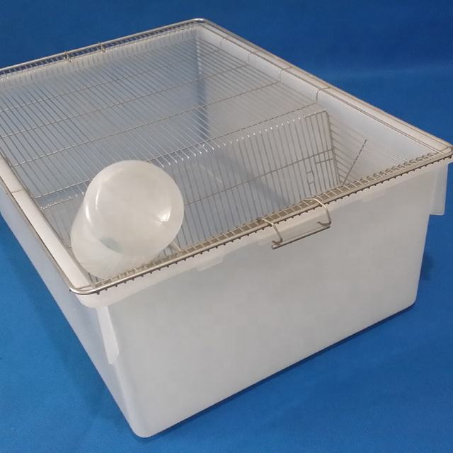 Lab Animal Rat MICE Polypropylene Breeding Cages - Good for Rat Mice & Hamster
