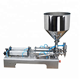Semi-auto Double-head Butter Filling Machine with hopper paste/cream filling machine / jam filler