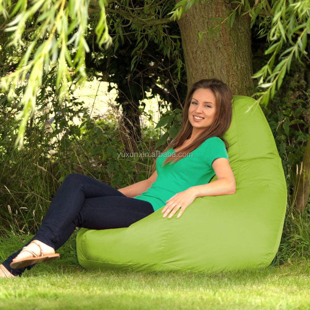 Lazy boy bean bags large size foam bag chair polystyrene filling