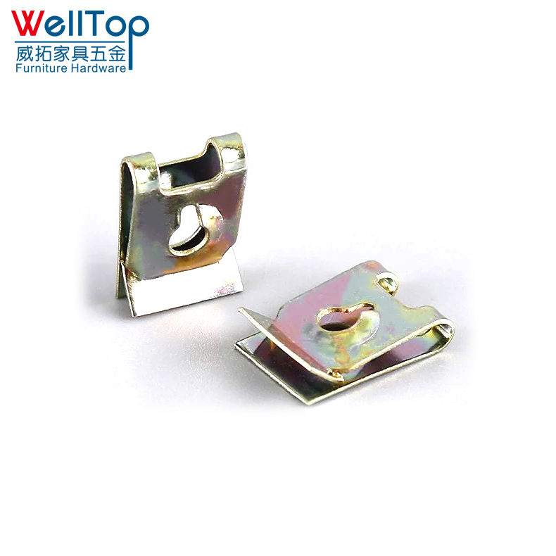 M5 spring metal u type clips nuts manufacturer stainless clip nut welding nuts for locking wheel car VT-12.037