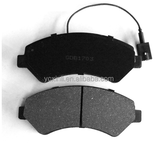 D1540-8748 Professional manufacturer china brake pad auto spare parts for car GDB1703