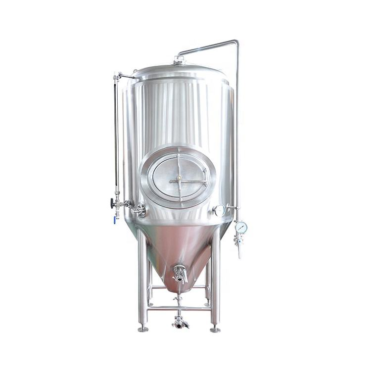 1000 Galon 200L 100L Stainless Steel Fermenter Vodka Cuka Yoghurt Susu Bright 1000 Liter Bir 100 Galon Tangki Fermentasi