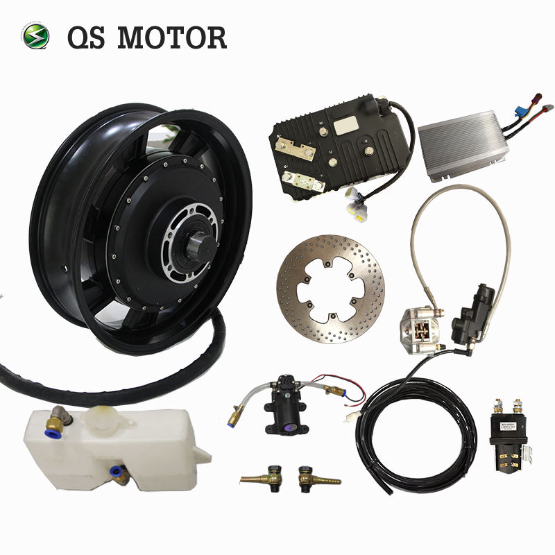 Water Cooling 14kw 150kmh electric motorcycle motor kit for Electric Motorcycle