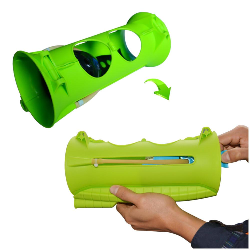 Palla di neve blaster target gioco sparatutto, solo blaster launcher/lanciatore/maker palla di neve pistola