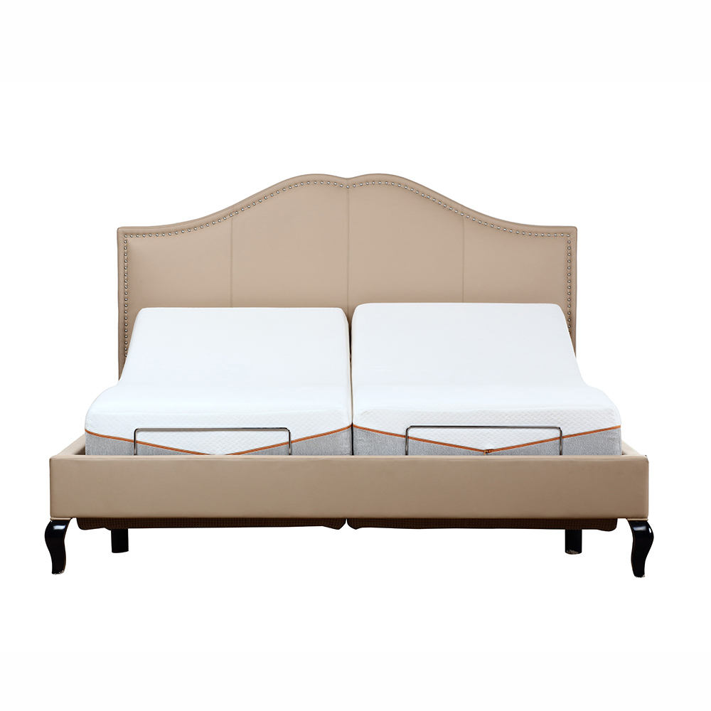 Factory direct loading Bedroom furniture use German Brand Okin motor system double size adjust bed base