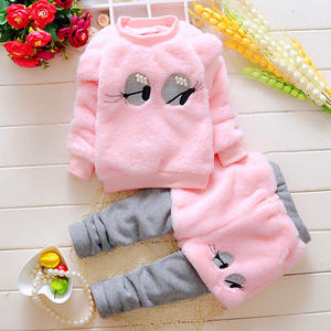 Toddler Baby Girl Autumn Clothing Baby Winter Wear Fashion Set 2020 Newest Girls Clothes 2PCS Children's Infant Clothings