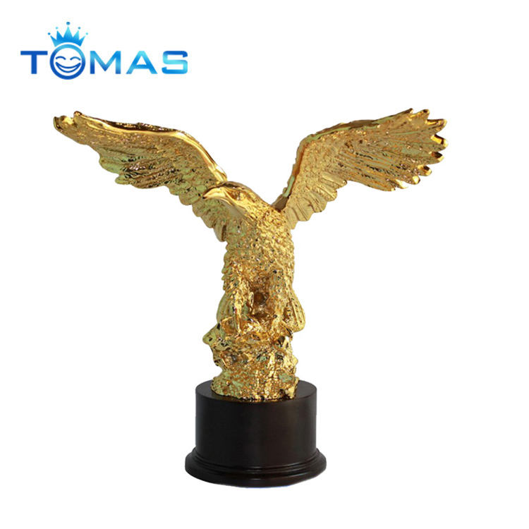 High quality factory made custom metal eagle sculptures