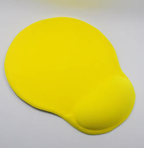 Ergonomic silica 3d gel gaming mouse pad with wrist rest, no leaking problem