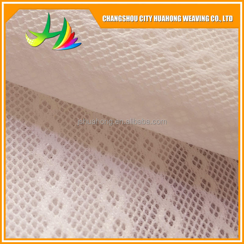 New Lace 100 Percent Recyclable 3D Mesh Fabric For Baby Mattress Pillow Easy-cleaning And Breathable Factory Direct