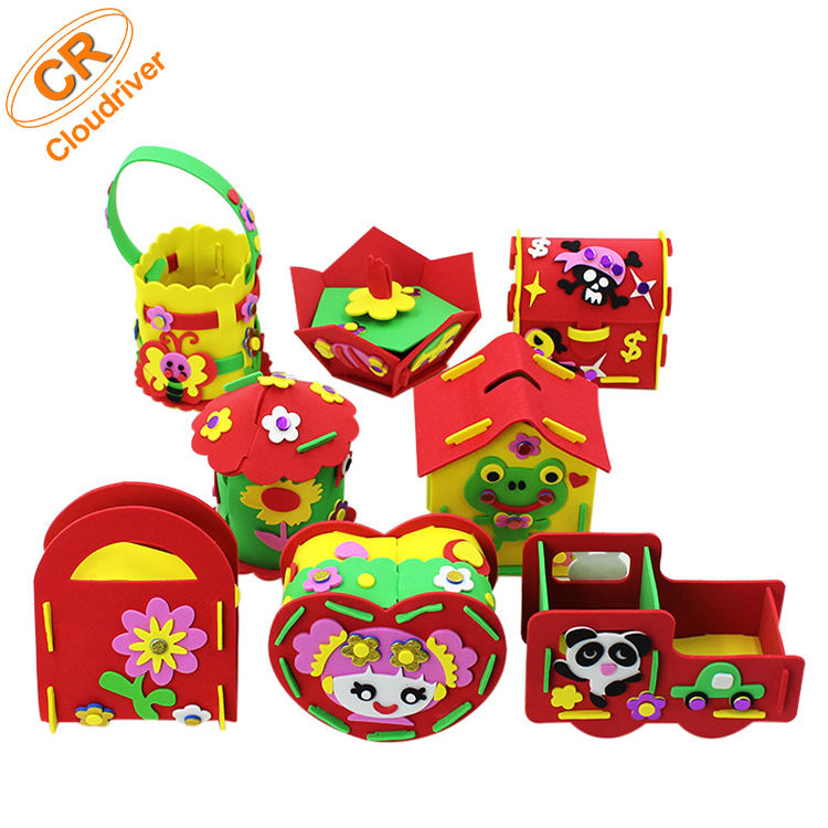 Customized High Quality Cheap Price Children DIY EVA Gift