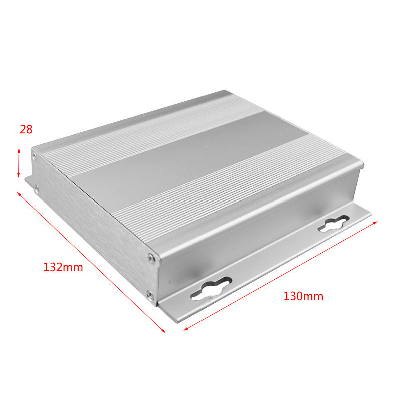 Aluminum Extrusion Junction Enclosure Electronic DIY Project Box