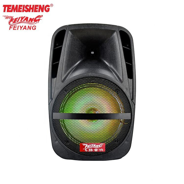 feiyang smart unique new 8 inch wireless plastic speaker woofer with light