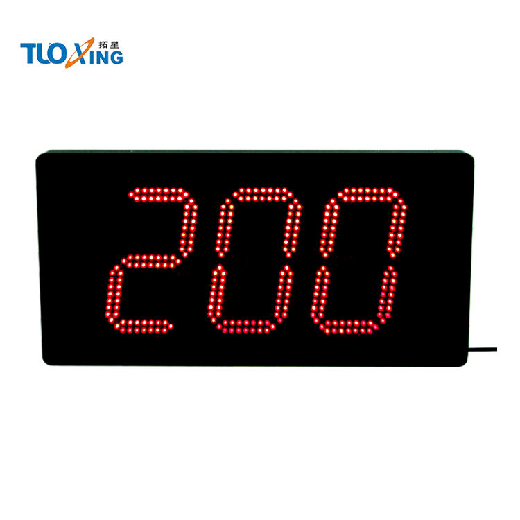 Alibaba 8 inch 3 digit large LED digital day counter with good quality