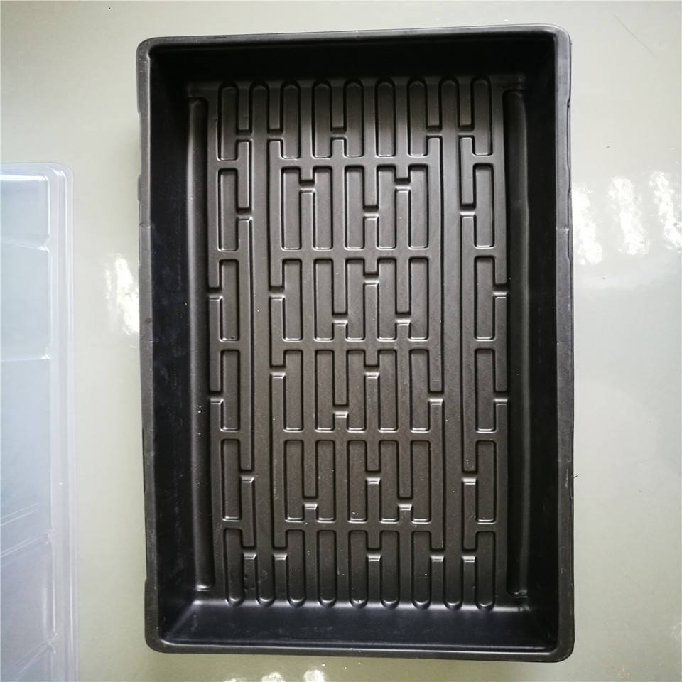 quil customer vacuum forming plastic abs tray of bliser product ,spvc extra large plastic tray
