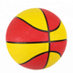 Hot selling low price inflatable customize size bright color outdoor sport rubber basketball made in china