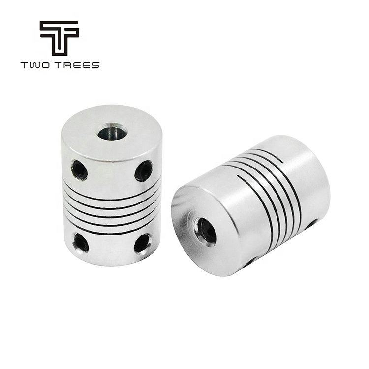 Encoders Engraving all Kinds size Aluminum Alloy CNC Stepper Motor Flexible Winding Shaft Coupling D19L25 Shaft Coupler