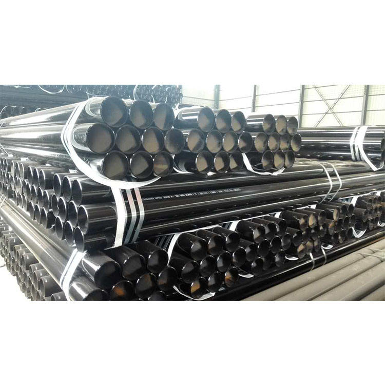 Fast delivery with black painting high quality SMLS Line Pipe Seamless Steel Pipe for Transporting Sewage system