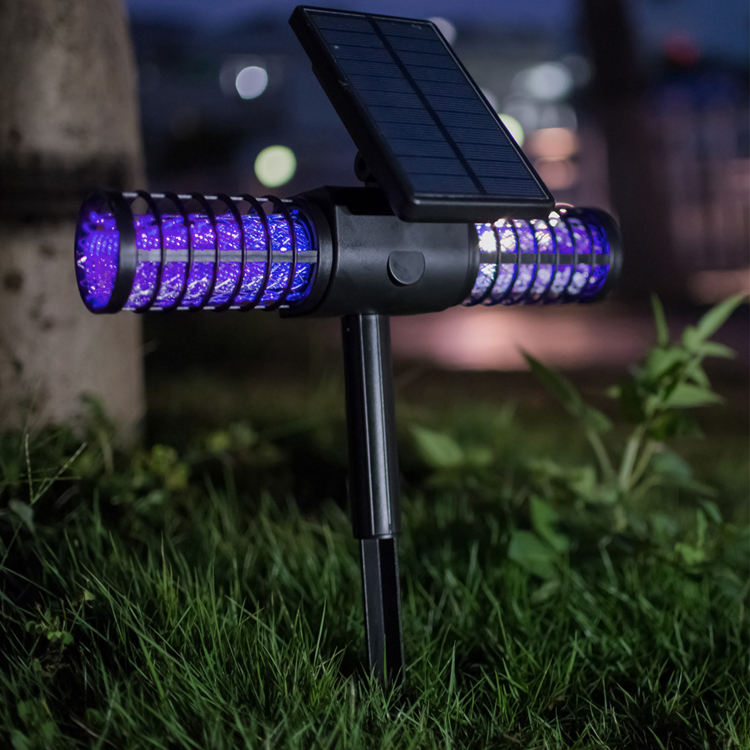 2018 Amazon 2200mah Solar Powered Home Use Electronic Rechargeable Mosquito Killer Lamp