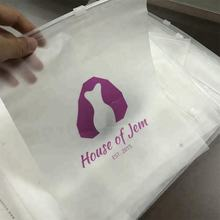 Custom pvc bag clear pvc bag packaging plastic zipper bag