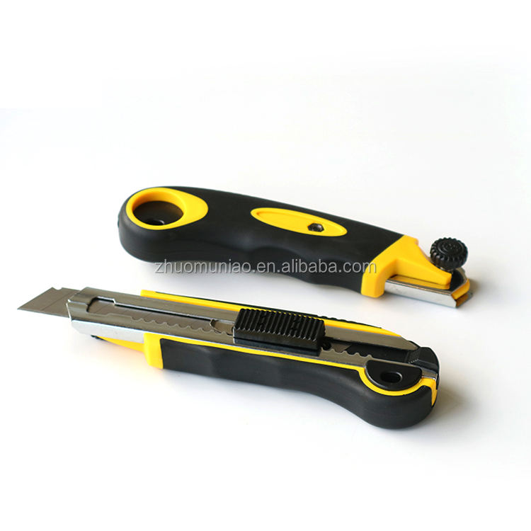Plastic ABS+PPR Material Knife Top Search Hand Tool With 5 Blades