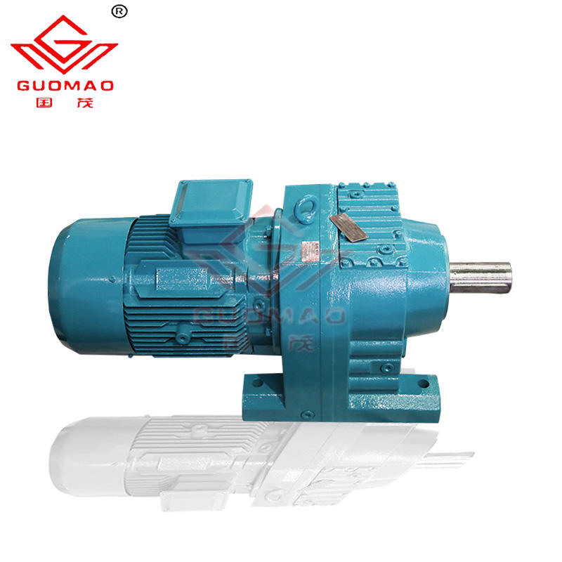 guomao drive industrial gr57 1 20 ratio reduction gearbox for 2.2 kw geared motor