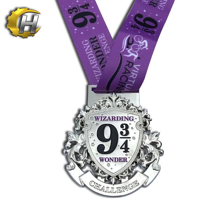 2019 de Metal de <span class=keywords><strong>bronce</strong></span> de 3D estrella conmemorar medalla para graduado