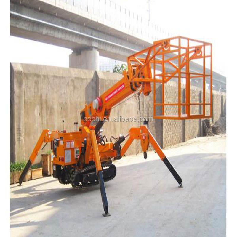1T Mini Spider Lifting Crawler Cranes