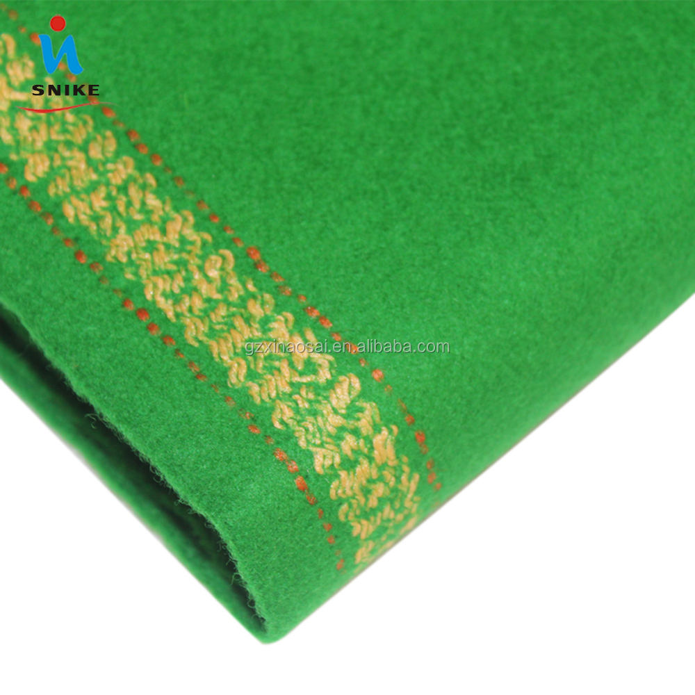 100% Wool Nap Cloth Import England Snooker Cloth 6811