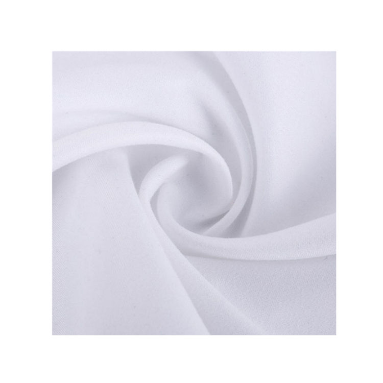 100% Recycled Polyester peach skin fabric RPET microfiber peach skin fabric Eco friendly environmental fabric