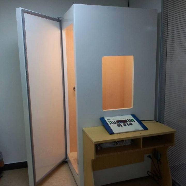 Mobile Mini Audiometric Testing Room for Hearing