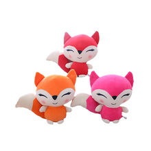 Fox plush toy soft cute fox plush toy plush stuffed fox toy