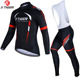 X-Tiger Cycling Jersey Set MTB Bicycle Clothing Maillot Ropa Ciclismo Long Sleeve Bike Clothes Cycling Set bicycle jersey