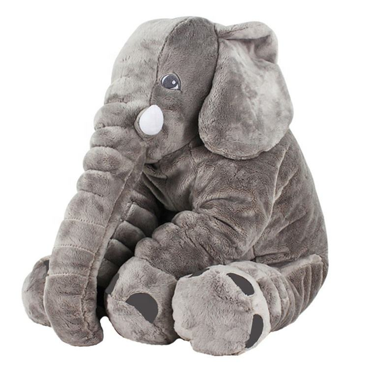 Wholesale Price High Quality Plush Elephant Stuffed Plush Animals Toy Pillow
