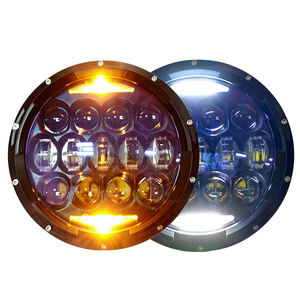 Hot Sale 7 Inch Led Round Headlight Projector Headlamp OSRAM 130W for Jeep