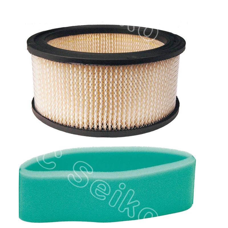 2 Air Filters For Kohler 17 083 07-S Plus 2 Pre-Filters For Kohler 17 083 12-S