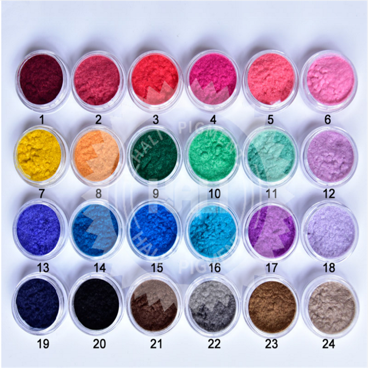 35Colors Cosmetic Solvent Resistant Mica Pearlescent Pigment Dust Pearl Powder for DIY Nail Art Polish&Makeup Eye Shadow