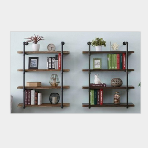 NR High quality Home decor and vintage store decoration metal shelf .