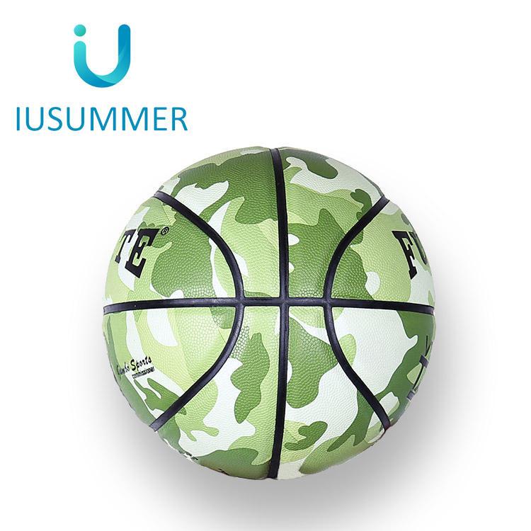 Marque Formation Pu Imprimé Personnaliser Votre Propre Panier Basket Balles En Cuir Balle Taille 7