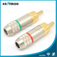 high quality cable male RCA connector