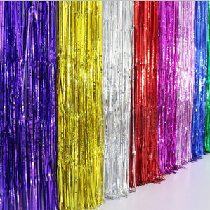 Yangyue Folie Gordijnen Fringe Gordijnen Klatergoud Achtergrond Metallic Gordijnen Voor Verjaardag Wedding Party Photo Booth Decoraties