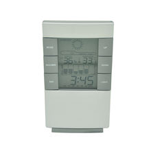 PN-1089 Table Alarm Clock Electronic Weather Station with Calendar