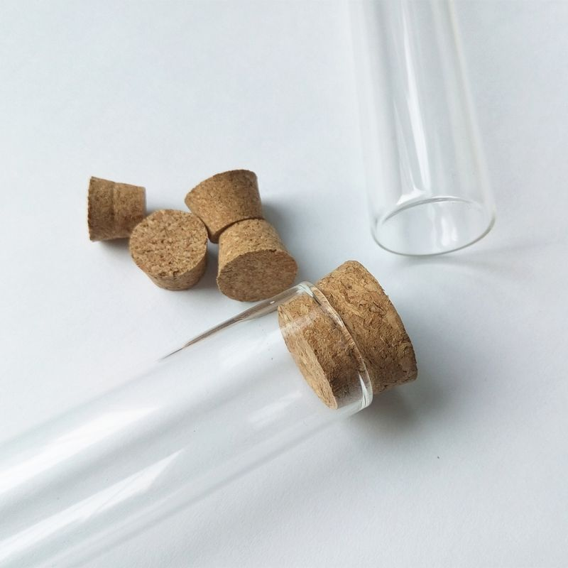 Glass Tubes With Corks Borosilicate Glass Test Tube With Cork China Manufacturer