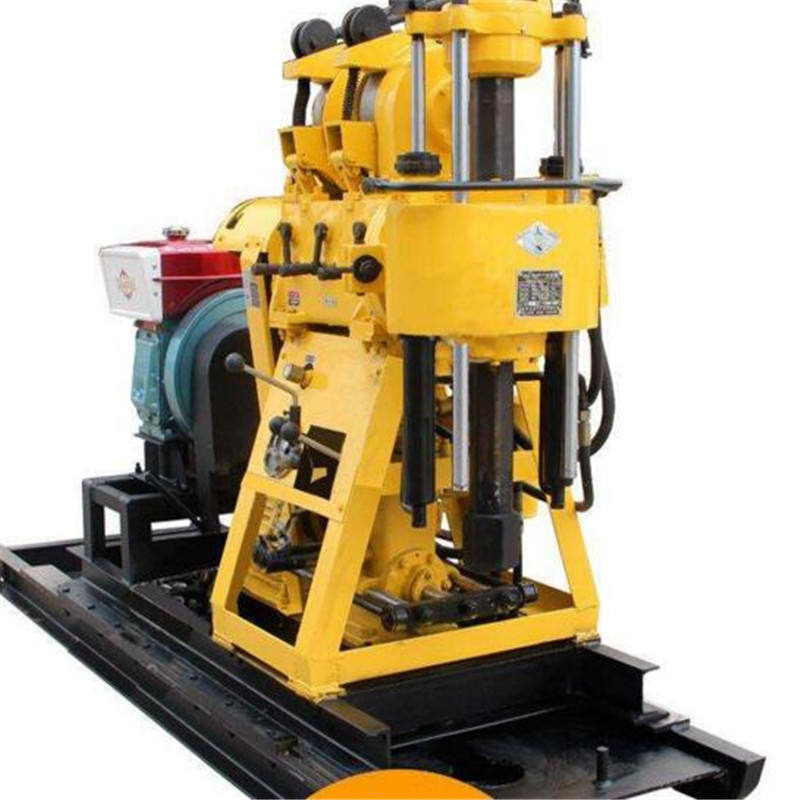 200m hydraulic diesel Water Well rock drill rig Machine